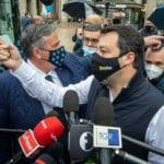 """Comunali, Salvini insiste su Albertini e Bertolaso: """"Sono i candidati giusti"""""""