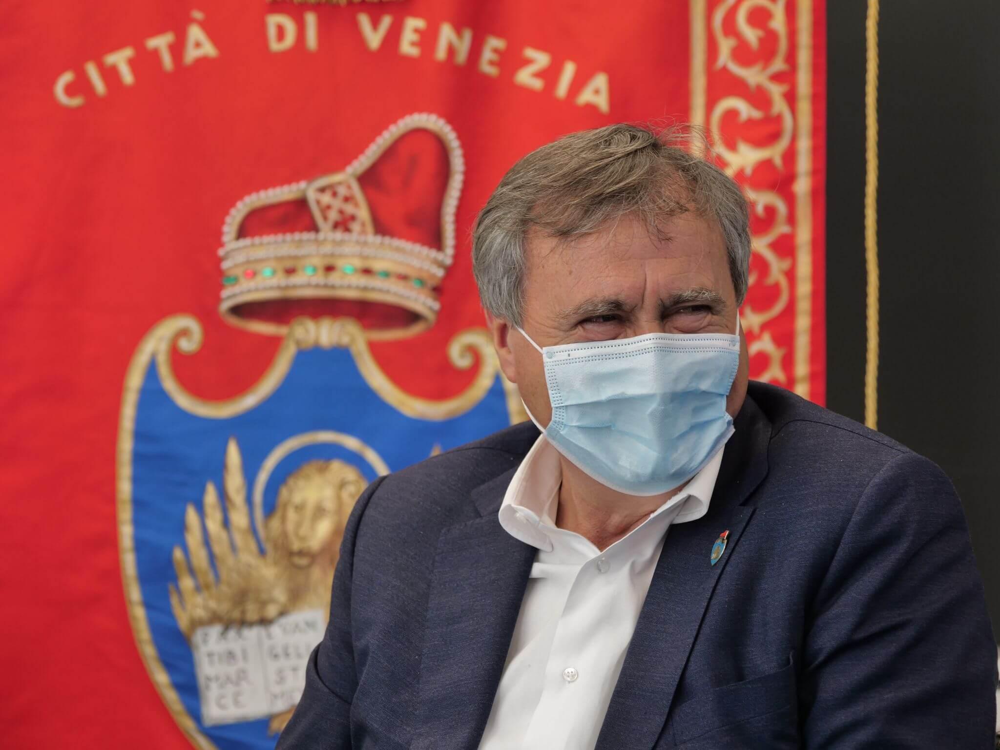 Luigi Brugnaro sindaco venezia salone nautico