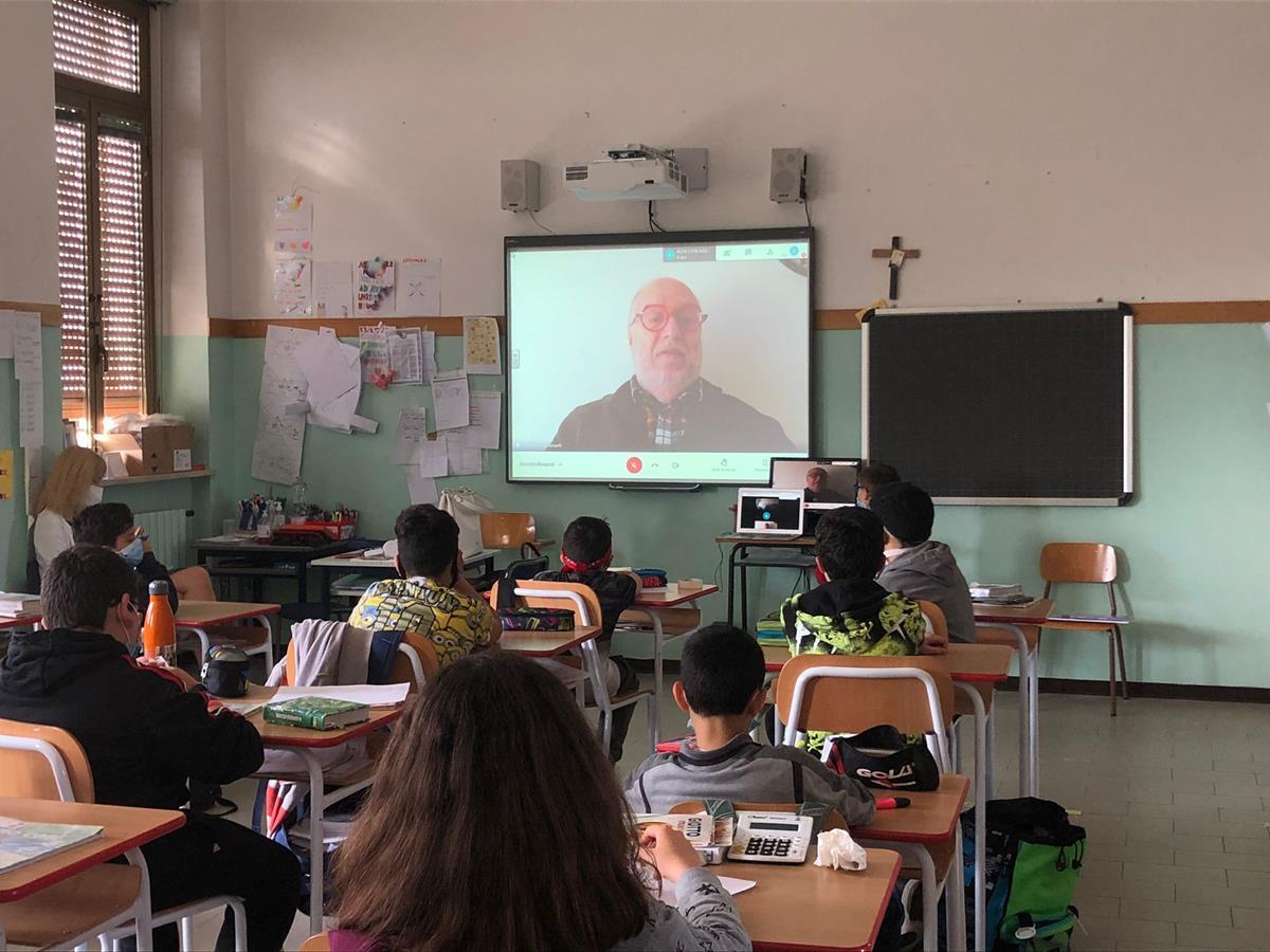 Raspelli alla primaria Padre Giuliani di Madignano (2)