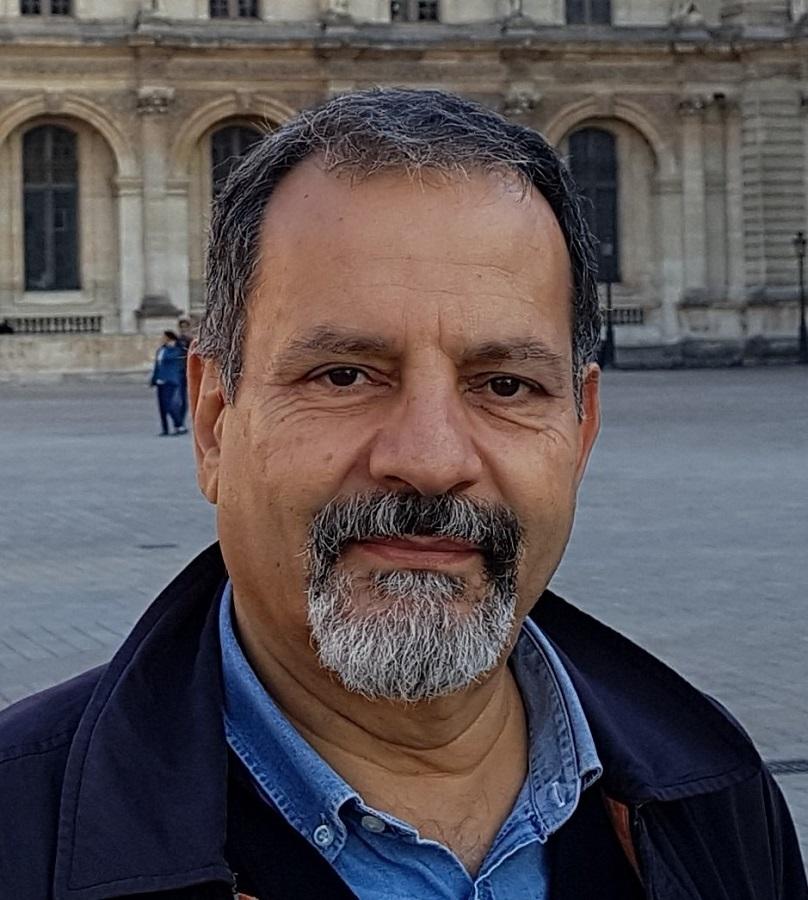 Sami Haddad attivista e docente di lingua araba all'Università 'L'Orientale' di Napoli