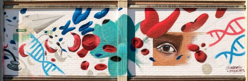 Tackle Zero Etsom murales modena progetto Bloodartists