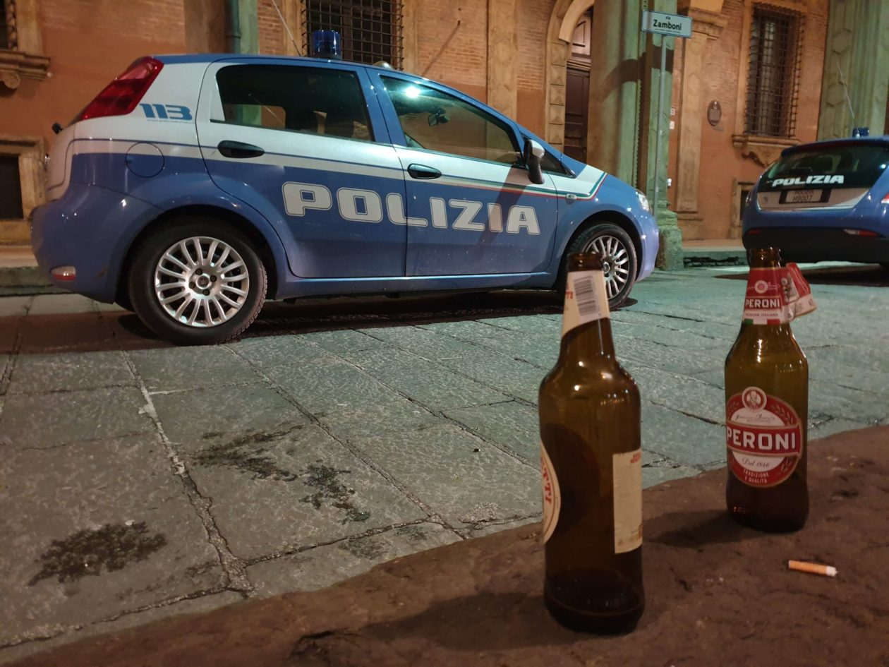alcol polizia bologna