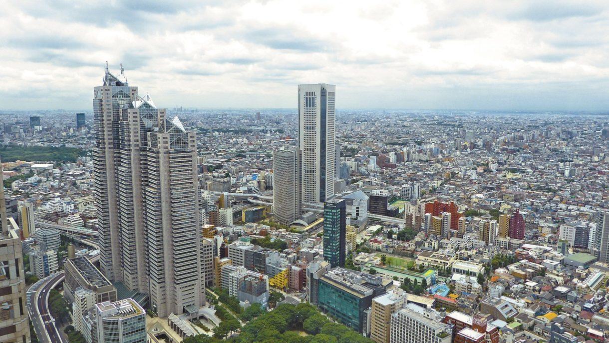 Giappone grattacieli metropoli