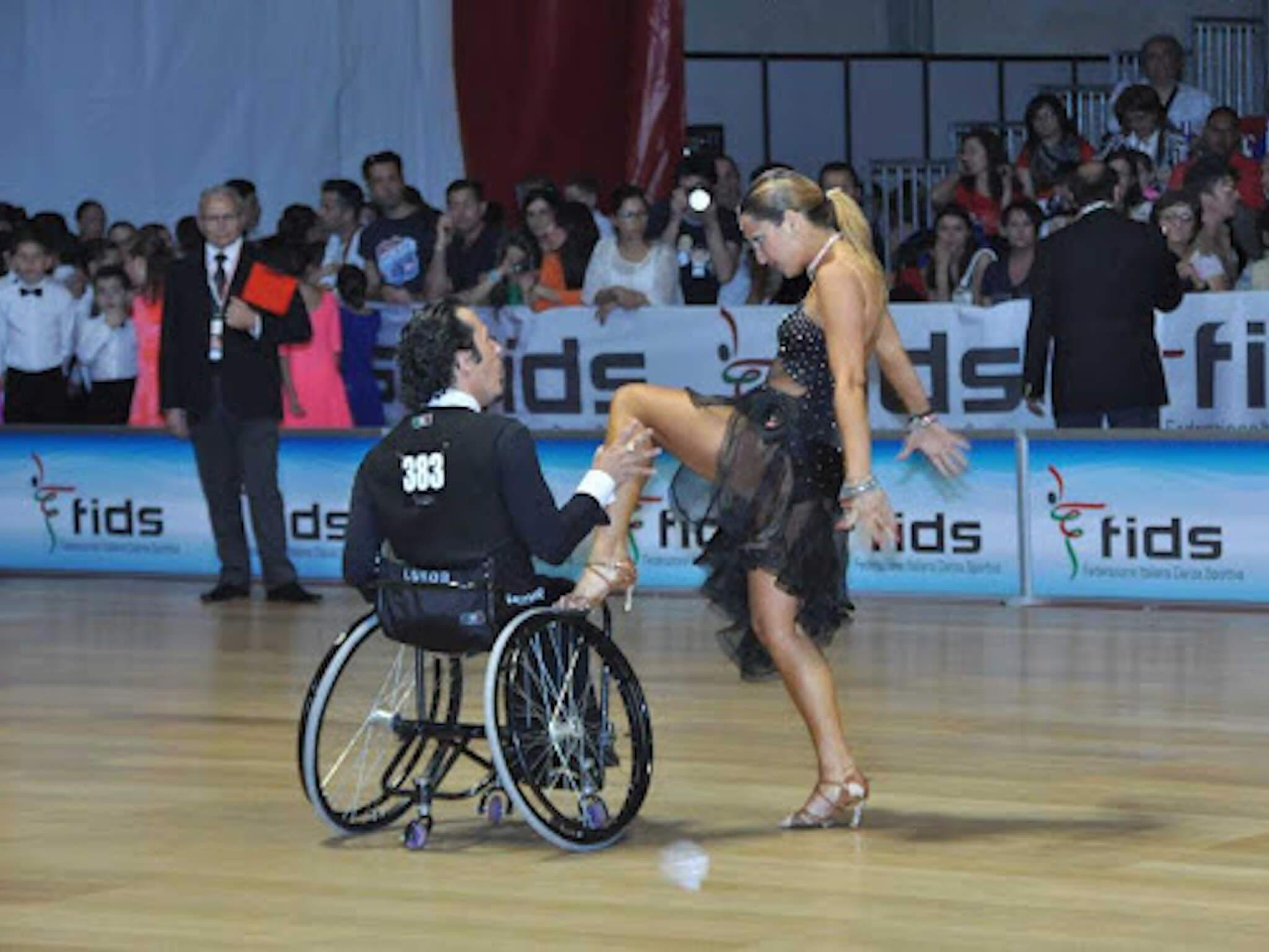 danza in carrozzina paralimpica