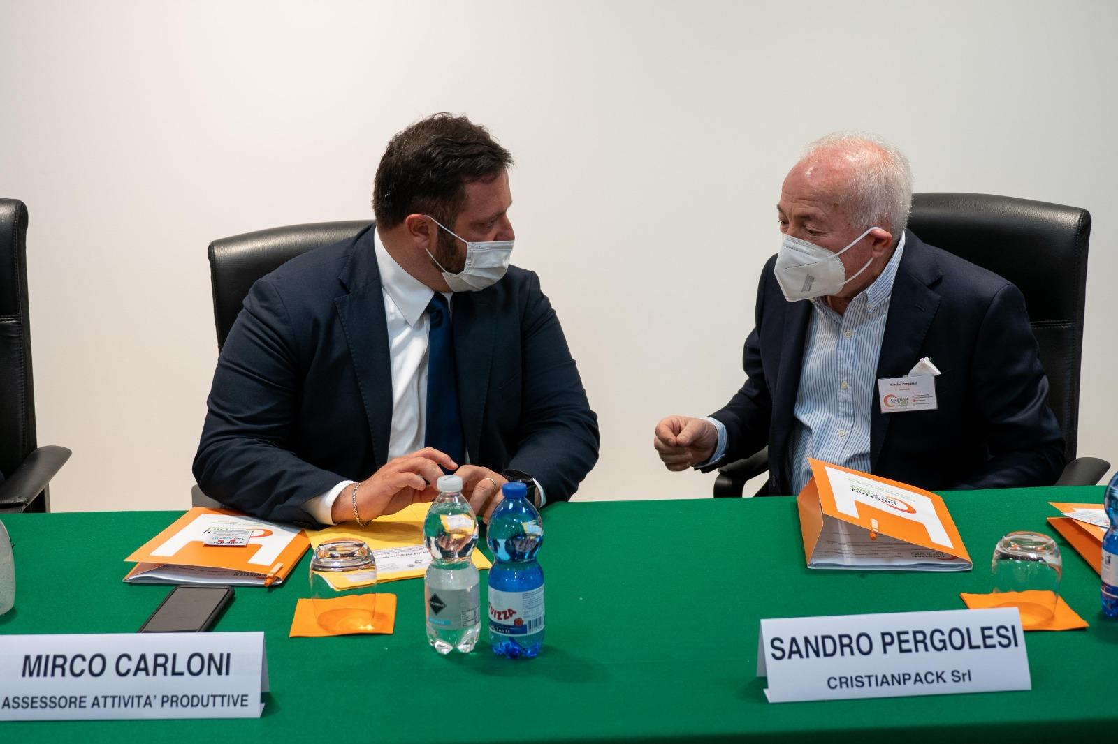 Mirco Carloni Sandro Pergolesi Marche