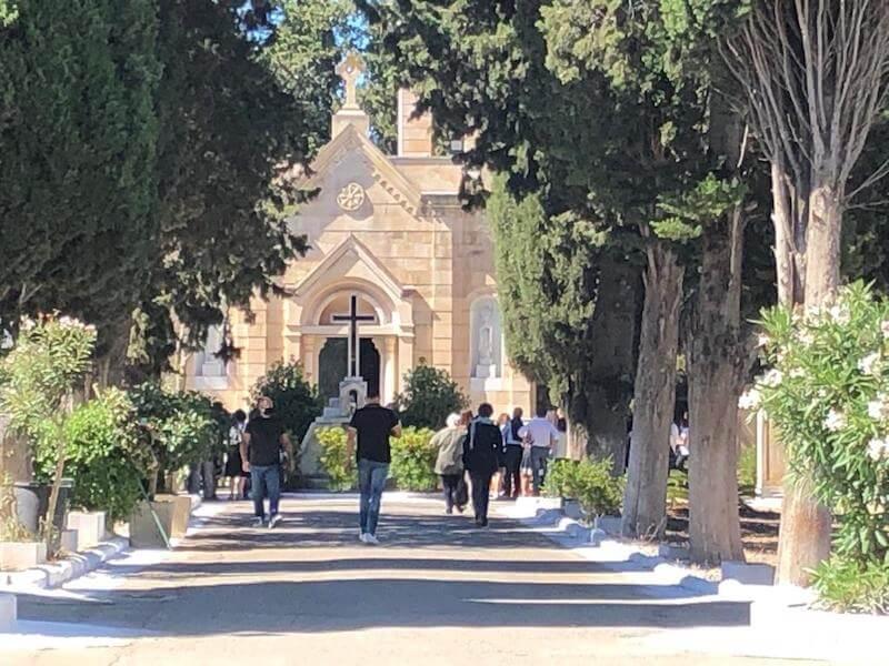 funerali coppia incidente mottarone