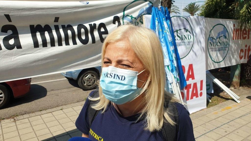 manifestazione infermieri cagliari nursind