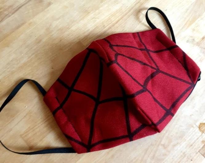 mascherina spiderman orizz