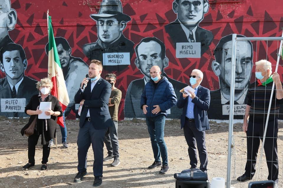 murales partigiani reggio emilia