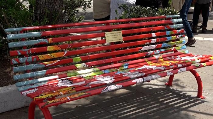 ornella pinto panchina rossa