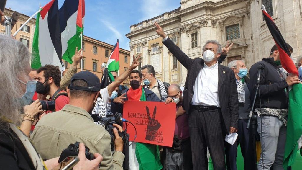sit in palestina roma 4