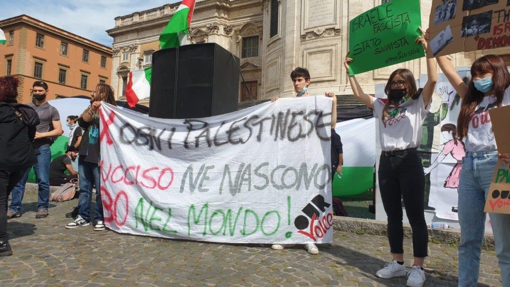 sit in palestina roma 3