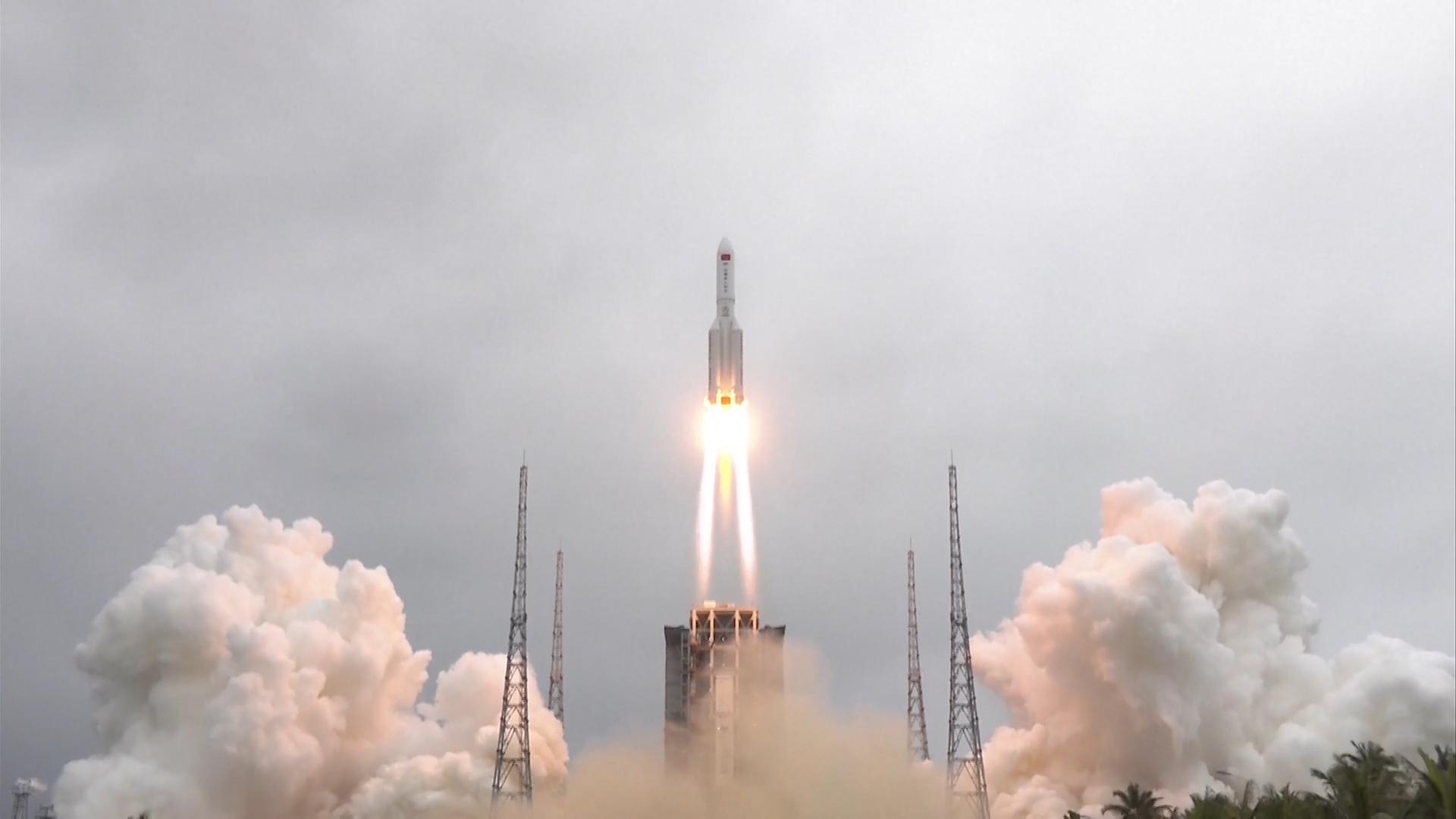 stazione spaziale cinese razzo_credits asi