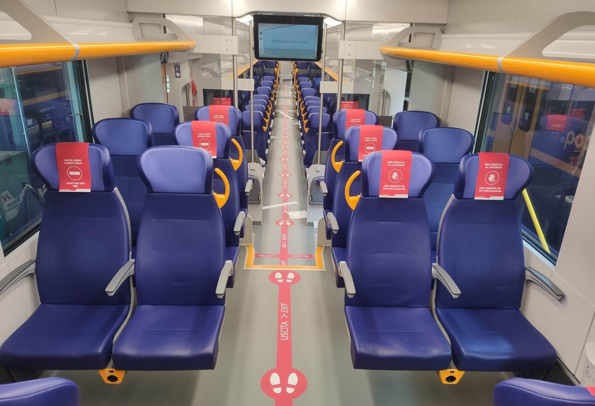 treni regionali trenitalia coronavirus