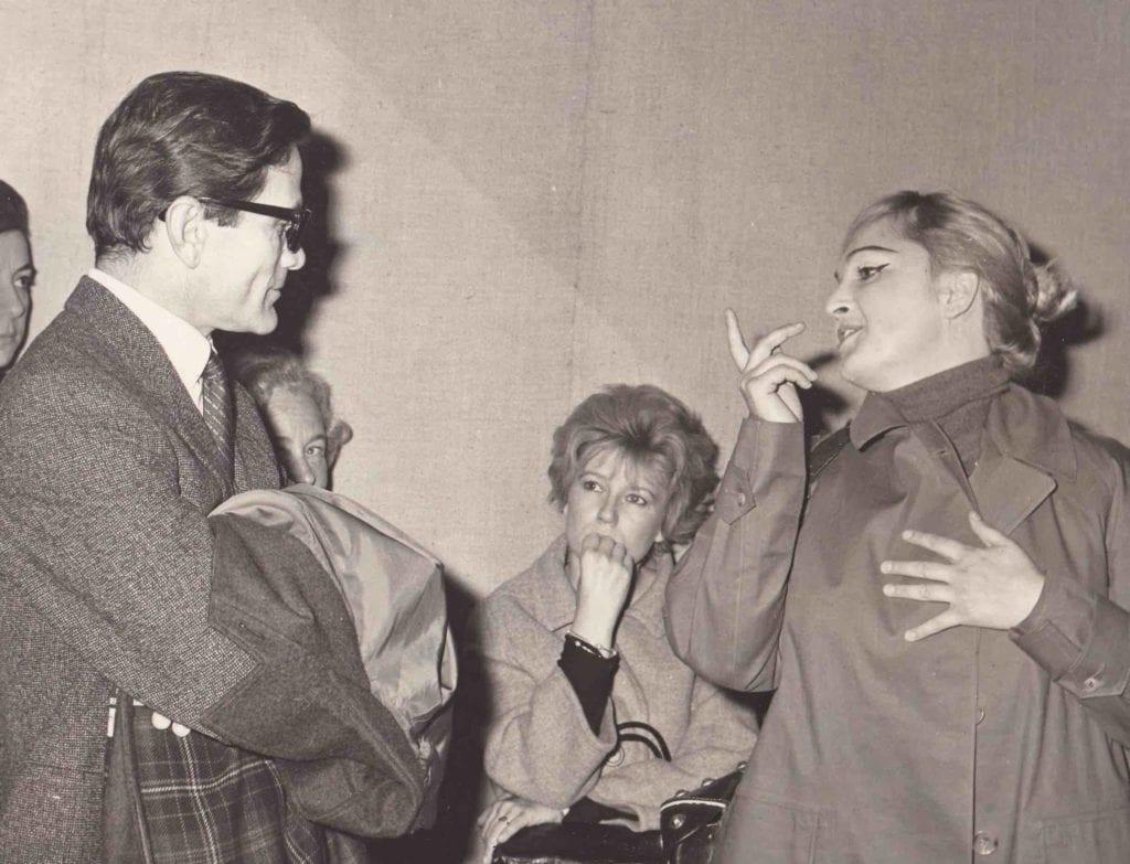 2Agenzia fotografica PIALEX, Pasolini Dacia Maraini e Laura Betti a Roma, dicembre 1963_Courtesy Collezione Giuseppe Garrera