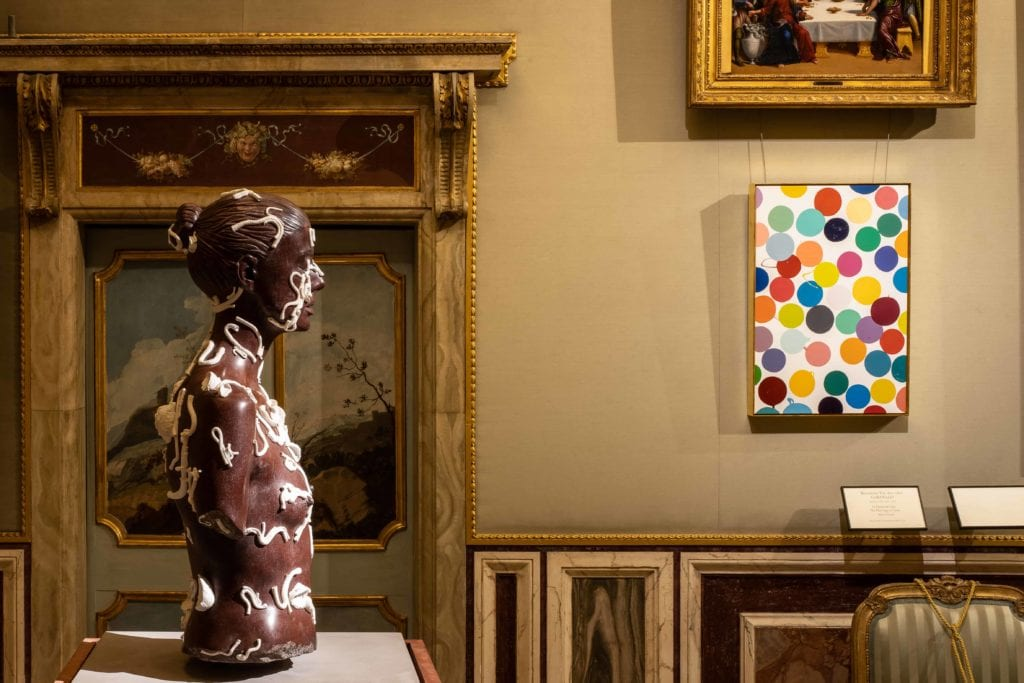 ARCHAEOLOGY NOW_Damien Hirst_Galleria Borghese