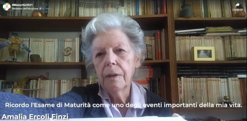 Amalia Ercoli Finzi maturita