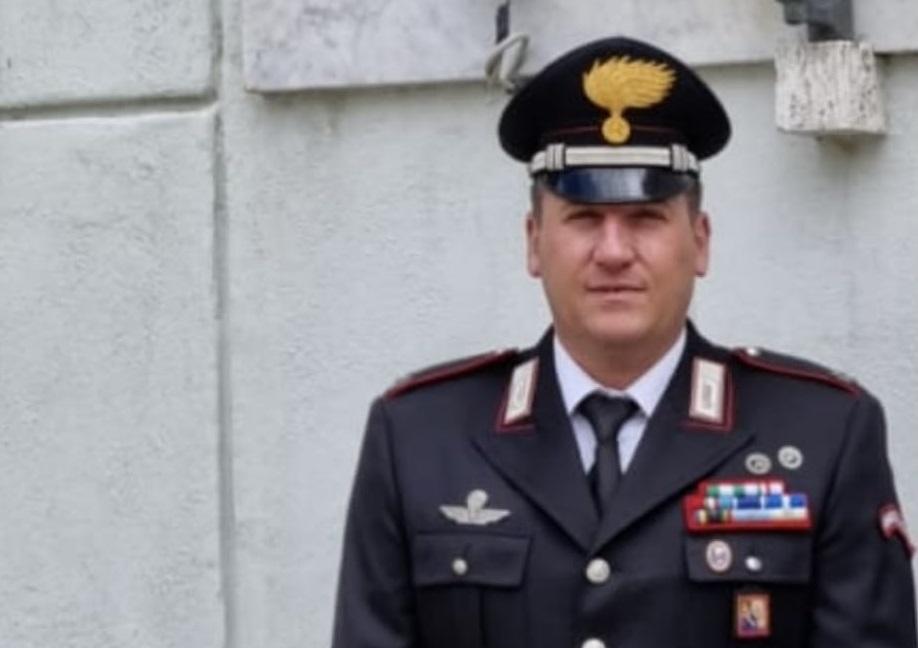 Comandante della stazione dei carabinieri di Cicagna Alessandro Latino
