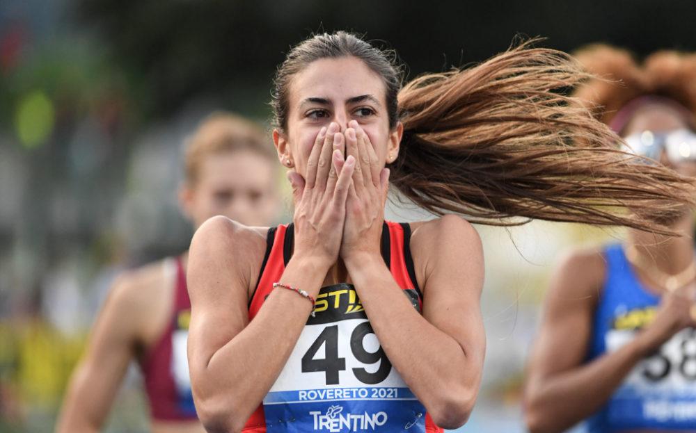 Eleonora Marchiando di Aosta campionessa italiana sui 400 metri a ostacoli