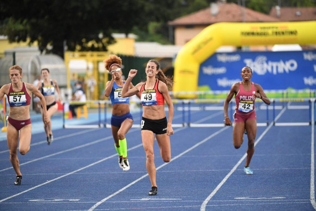 Eleonora Marchiando campionessa italiana sui 400 ostacoli a Rovereto