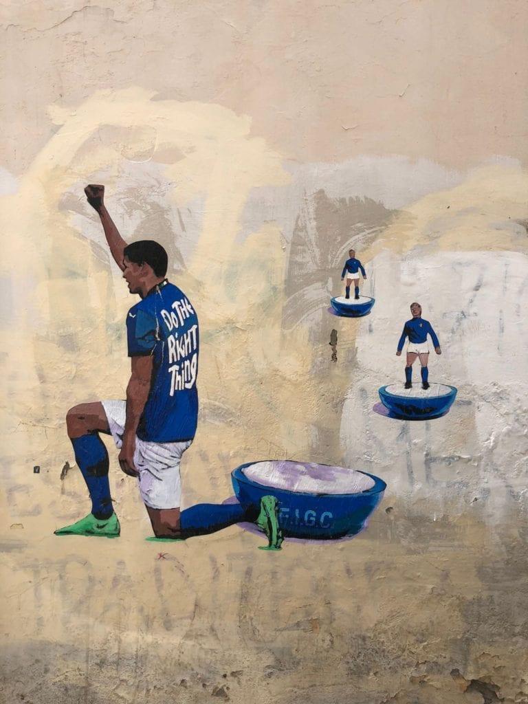 Harry Greb murale rione monti roma