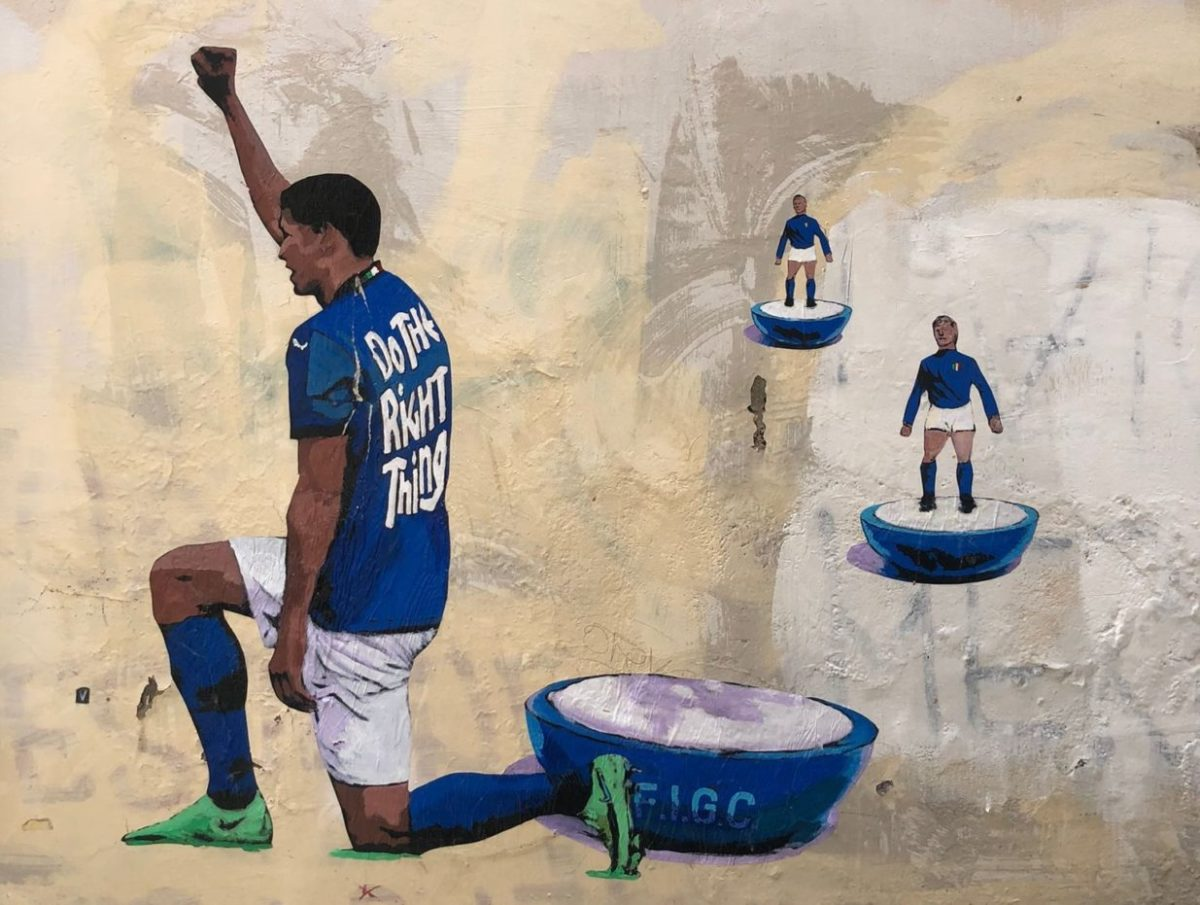 Harry Greb murale rione monti roma orizz