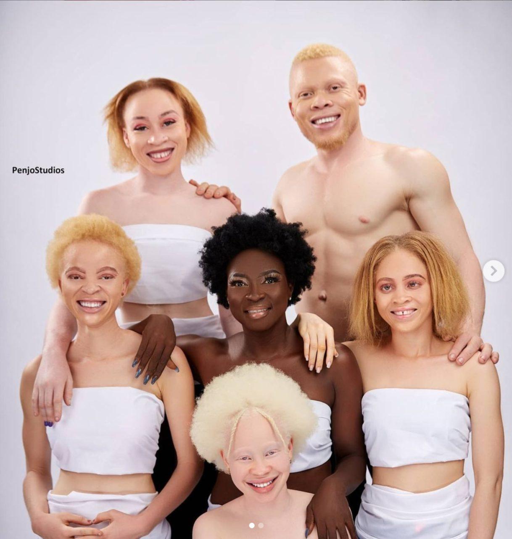 Lucie Memba Boss albini foto da Instagram