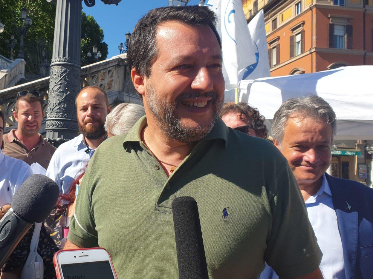 Matteo Salvini a Bologna