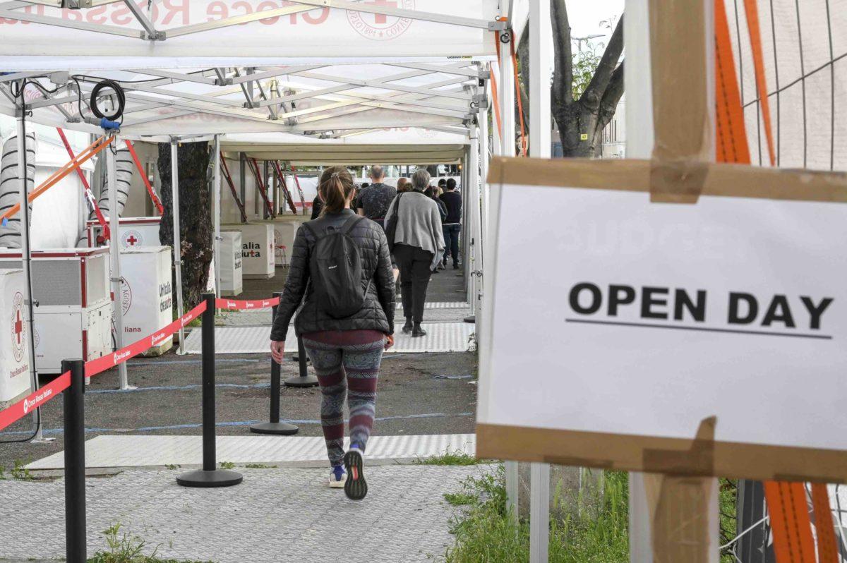 vaccino open day