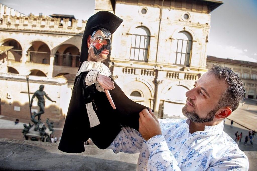 burattini Riccardo 'Riccardèn' Pazzaglia bologna