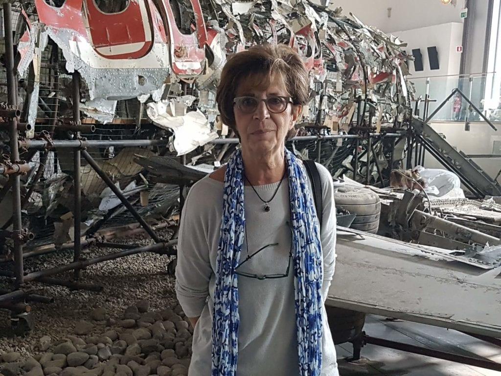presidente dell'associazione famigliari vittime di ustica Daria Bonfietti