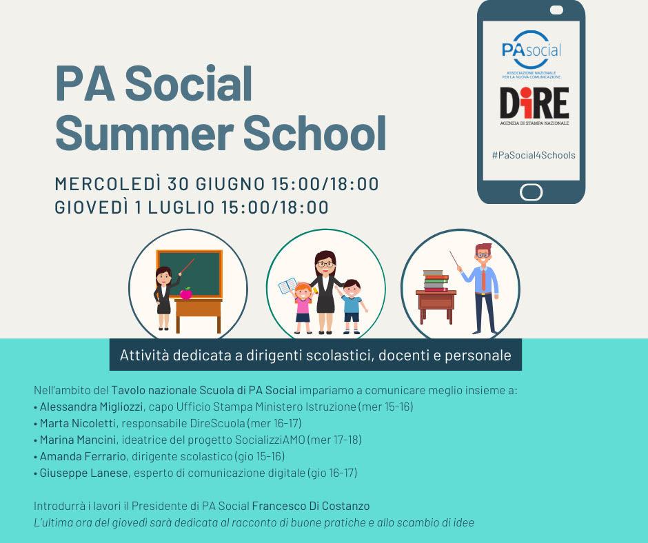 summer school pa social e dire