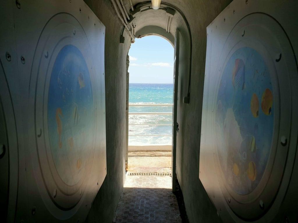 tunnel ospedale gaslini genova