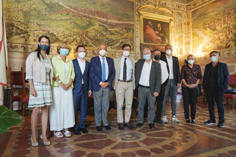 il presidente dell'Università di Tel Aviv a Firenze