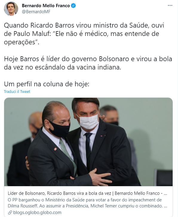 bolsonaro barros