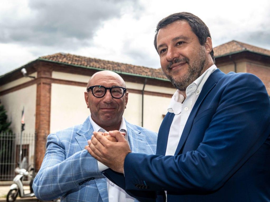 Imagoeconomica_Matteo Salvini Luca Bernardo