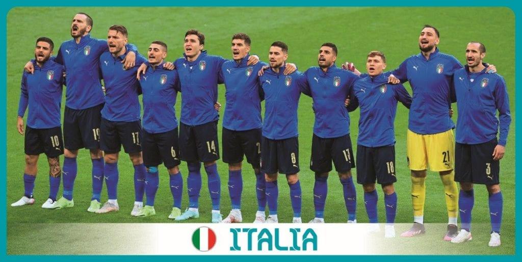 Italia Panini Uefa Euro 2020