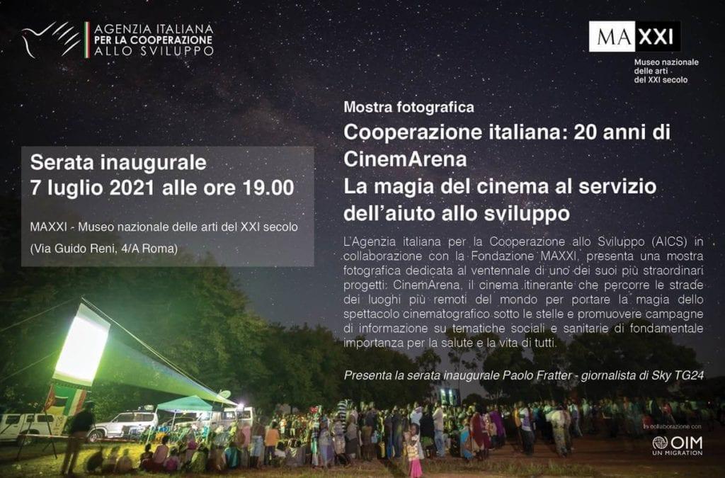 cinemarena roma mostra