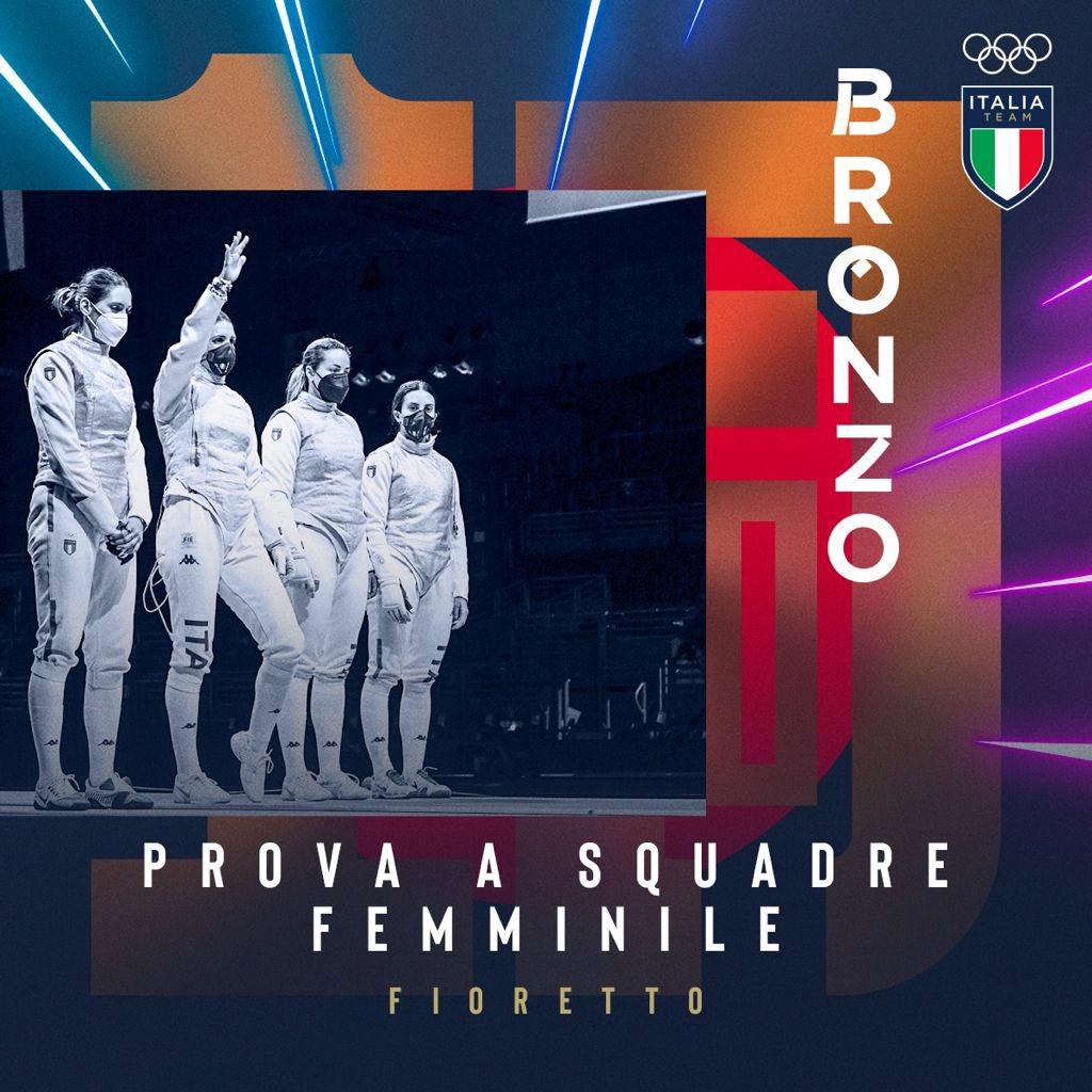 fioretto italia donne squadre