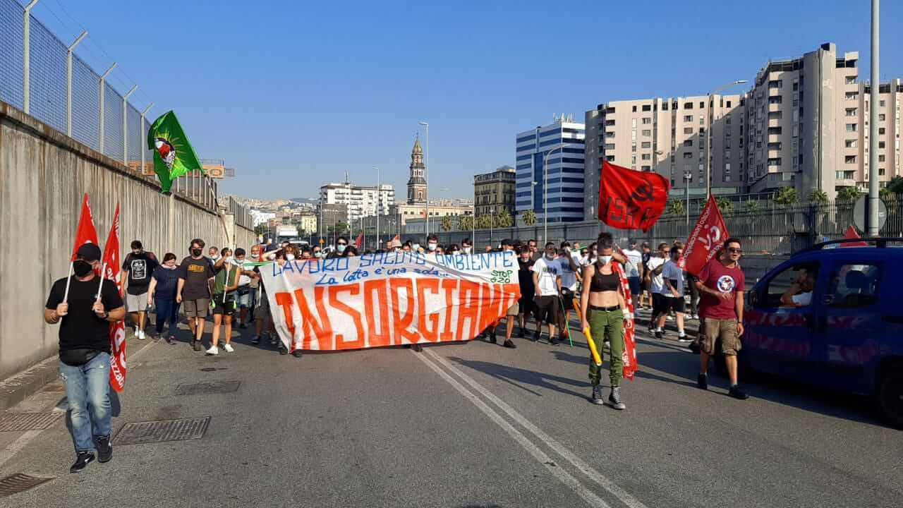 manifestazione napoli g20