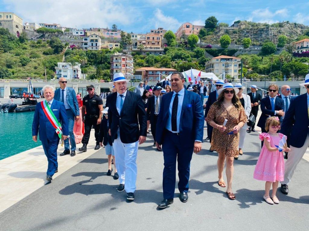 inaugurazione porto di Cala del Forte Ventimiglia