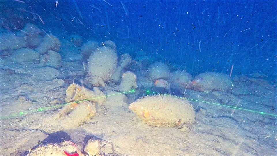 nave romana isola delle femmine