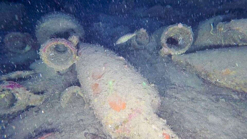 relitto nave romana isola delle femmine