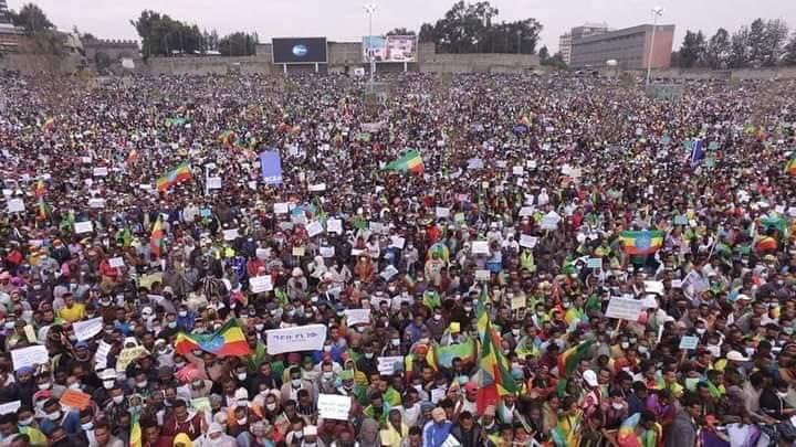 manifestazione addis abeba