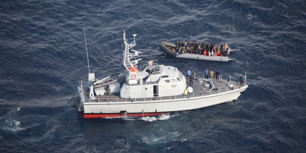migranti mare guardia costiera libica