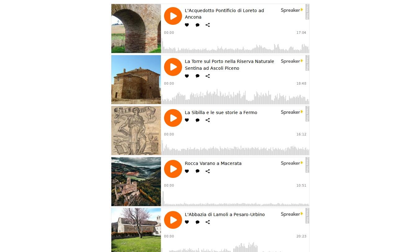 podcast marche