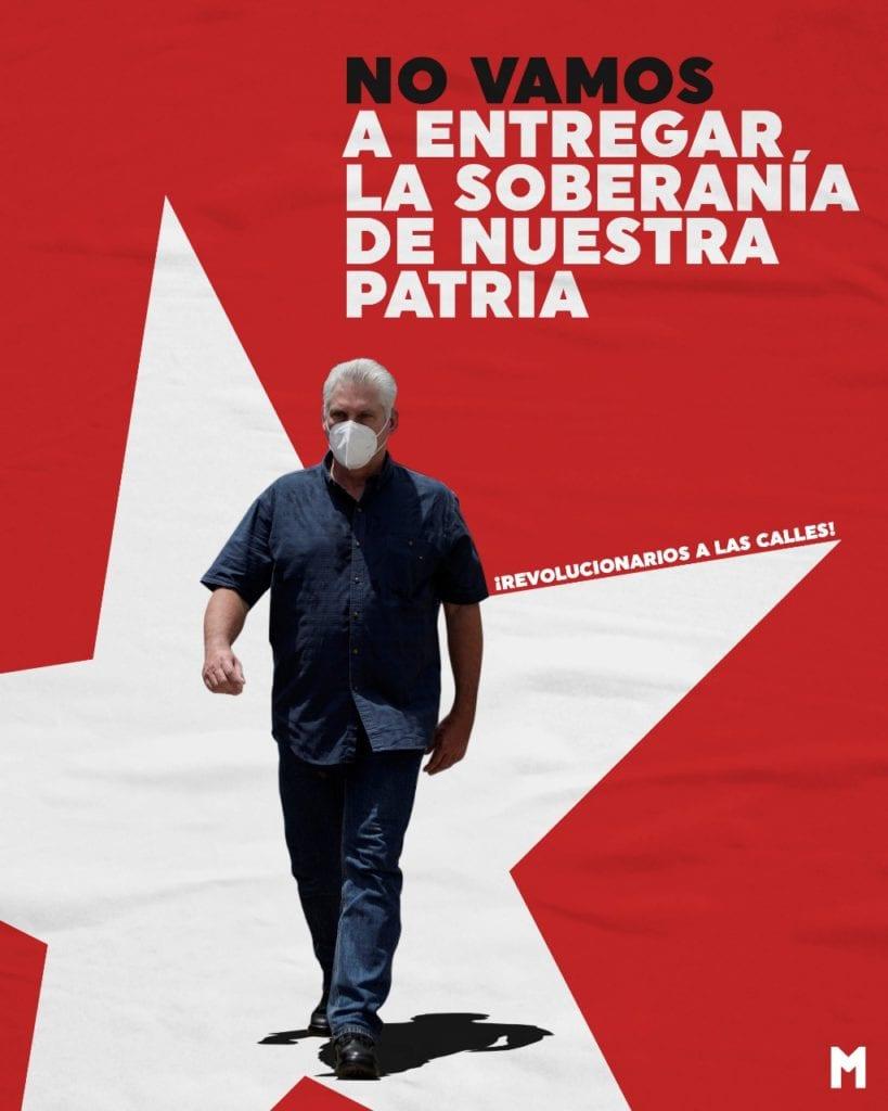 revolucionarios a las calles cuba