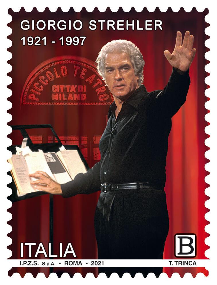 Francobollo Giorgio Strehler