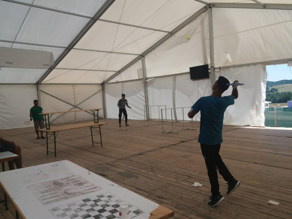 campo profughi Lipa
