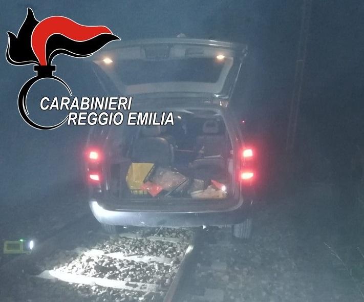 auto sui binari reggio emilia